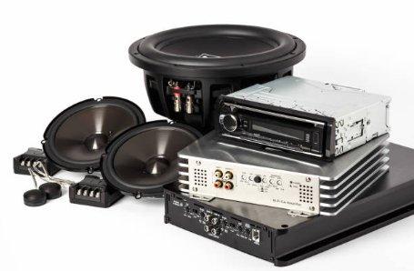Equipo de audio de fábrica